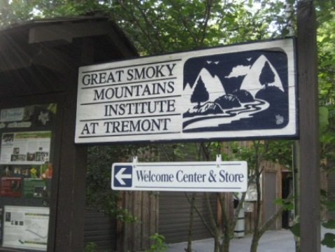 biking, Great Smoky Mountains, Tremont, Middle Prong