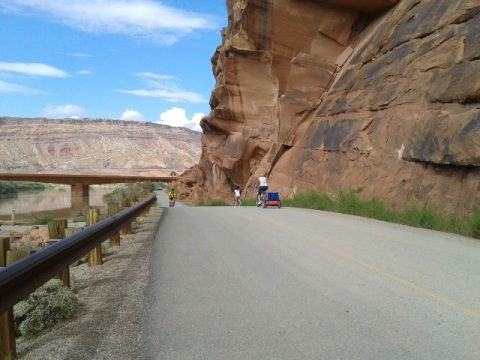 bike Utah, Moab Canyon Pathway, biking, BikeTripper.net
